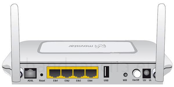 Como configurar  tu router  Home-Station de Movistar con un modem 3G (1/2)