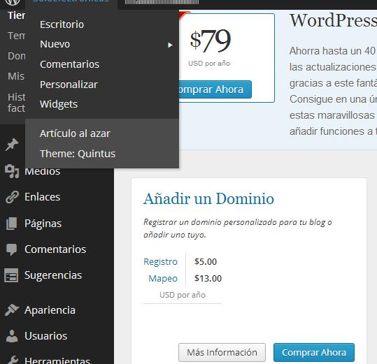Monetizar tu blog de wordpress.com (3/6)