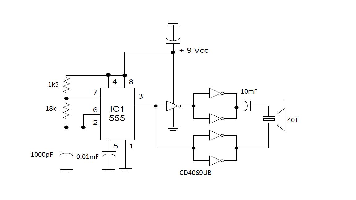 Circuito Emisor Receptor : Transmisor de ultrasonidos para netduino « soloelectronicos
