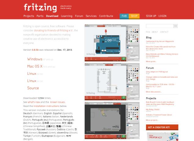 fritzing