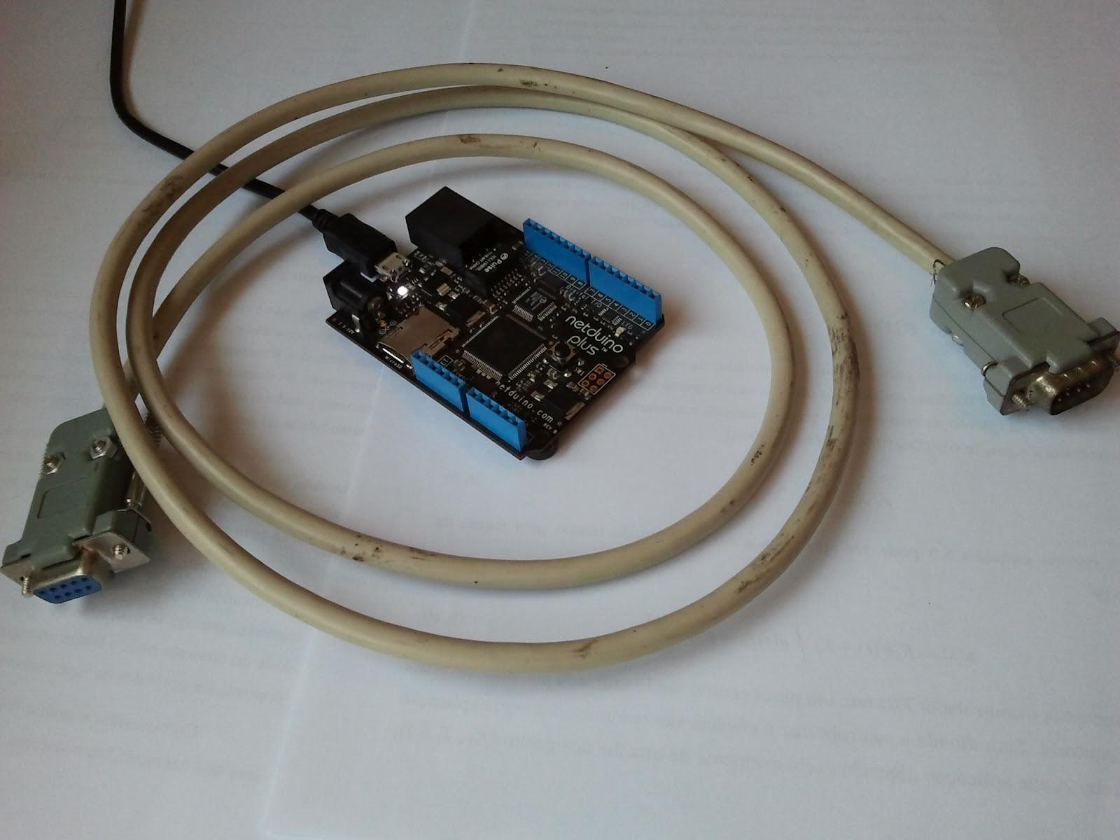 rs232 con Netduino « Soloelectronicos