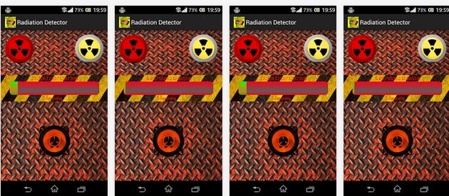 raduation detector