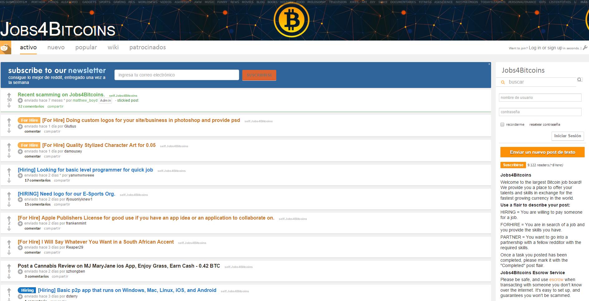 Vivir de la red con bitcoins « Soloelectronicos