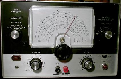 leader_lsg-15_signal_generator