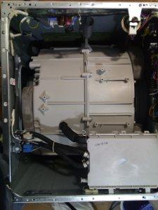 interior de una lavadora