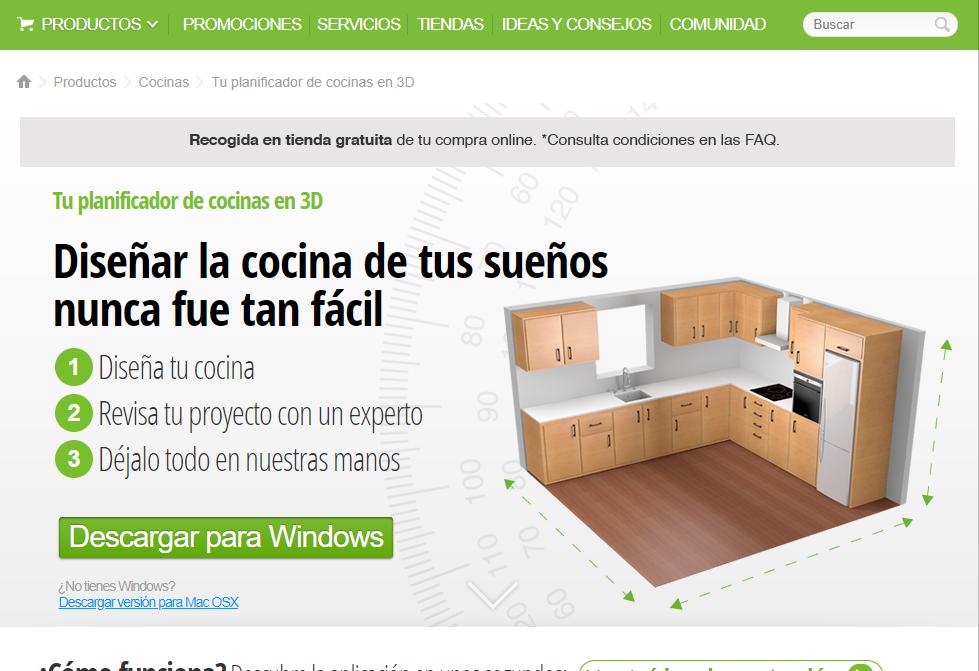 Software gratuito para diseño de cocinas | Soloelectronicos